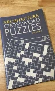 Architecture Crossword Book