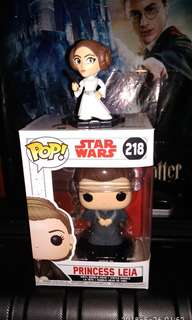 Princess Leia Mystery Minis & Funko Pop Exclusive Star Wars Bundle