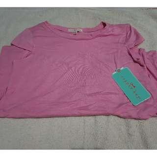 Copper Key pink blouse XL 4-5Y