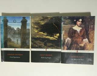 Great Expectations, Wuthering Heights & The Mill on the Floss