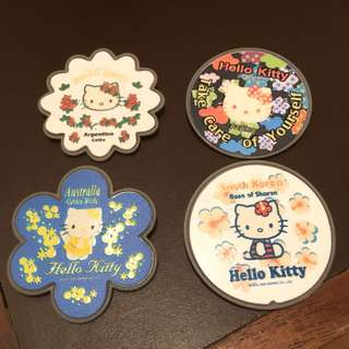Hello Kitty 7-11 絕版襟章 Hello Kitty 7-11 pins