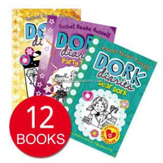 DORK DIARIES COLLECTION (12 BOOKS)