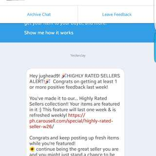 Another One! Thank you Carousell!👏😇