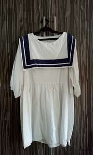 korean sailor dress