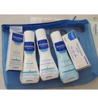 Mustela Essential Kit Products for Babies Newborns Travel Sizes