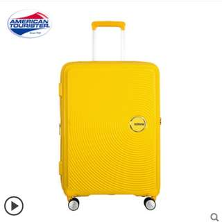 100% 新 [20寸可登機] AMERICAN TOURISTER Curio Spinner 55 - Golden Yellow