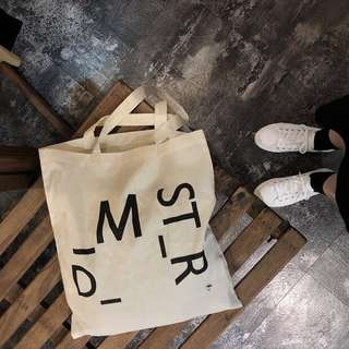 ⚡️只做一團⚡️需要訂貨💁🏻韓國款簡約帆布薄款大袋tote bag E