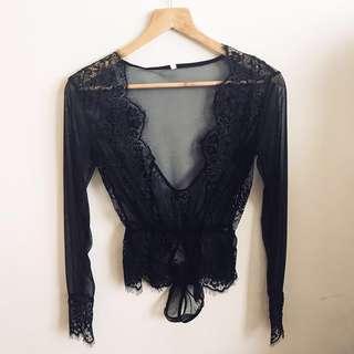 PROMO PRICE Lace thong bodysuit