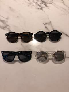 Women's sunglasses x 4