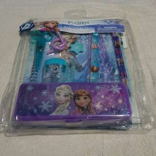 Disney frozen kids stationery set