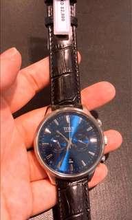 瑞士鐵達時機械腕錶 👑藍色真的很優秀啊 ,優惠只限本店,2年保修