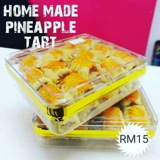 Home made pineapple tart