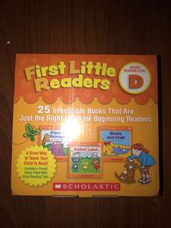 first little readers D