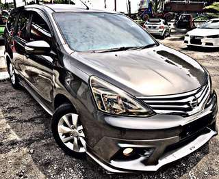 SAMBUNG BAYAR / CONTINUE LOAN  NISSAN GRAND LIVINA 1.8 AUTO FULL SPEC