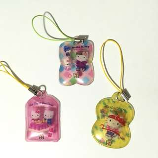 Hello Kitty 7-11絕版吊飾/掛飾 Hello Kitty 7-11 accessories