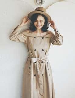 Marjorie 風衣洋裝