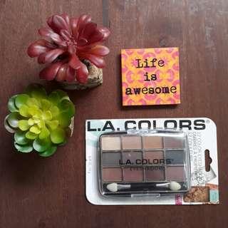 New LA Colors 12 color eyeshadow palate