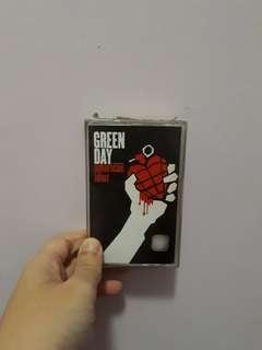 Green Day - American Idiot (Cassette tape/kaset)