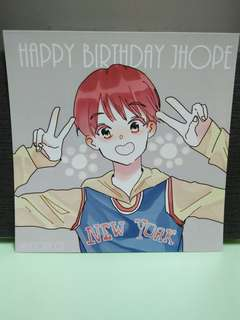 BTS JHope Print (square)