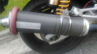 GPR exhaust end can