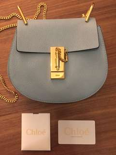 Chloe Mini Drew in Light Blue