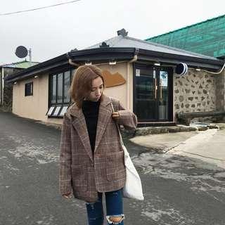 oversized blazer/coat korea