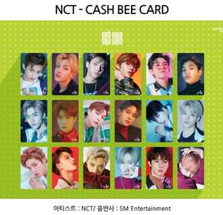 [PREORDER] NCT Cash Bee Card
