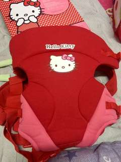 Baby carrier for baby girl.