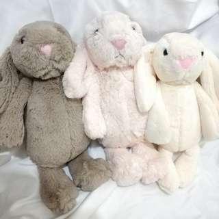 (得右邊)英國 長耳兔 27cm