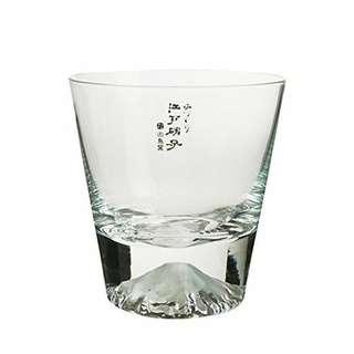 田島硝子 富士山玻璃杯 酒杯 威士忌杯 (只此一杯)