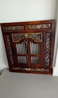Antique Window Display
