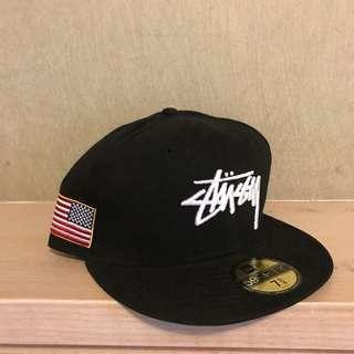 🚚 Stussy New era cap 帽子 板帽
