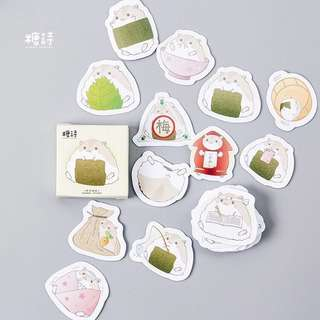 [PO] hamster sticker pack