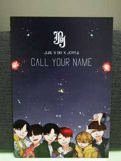 JBJ - Call Your Name Postcard