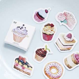 [PO] cake sticker pack