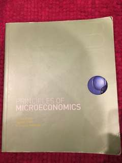 PRINCIPLES OF MICROECONOMICS 5th edition.