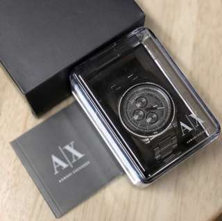 Armani Exchange Men's AX1606 Gunmetal Watch