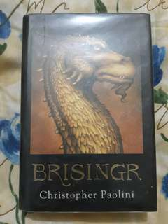 Brisingr by Christopher Paolini in Hardbound