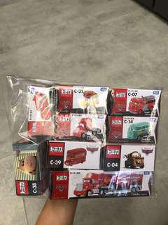 🚚 BN Tomica Disney Cars Collection