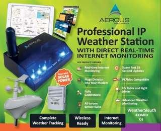 Aercus Professional IP Weather Station