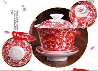 Wedding Tea Cups x 2 (comes in original packaging)