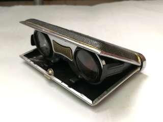 懷舊口袋型折疊式望遠鏡觀劇鏡