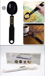 Spoon scale weighing machine kitchen