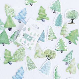 [PO] tree sticker pack