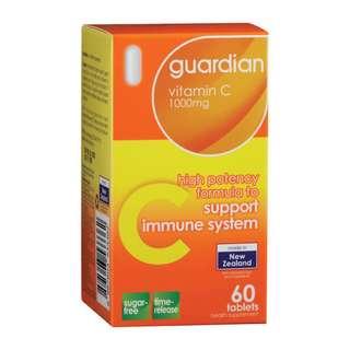 Guardian Vitamin C 1000mg, 60 tablets