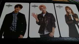 SUM PHOTOCARD SHINEE MINHO & KEY , RED VELVET WENDY