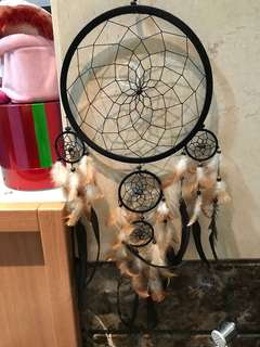Brown dreamcatcher large