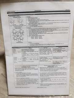 Biology Summary Notes