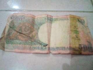 Uang Lama Rp.500
