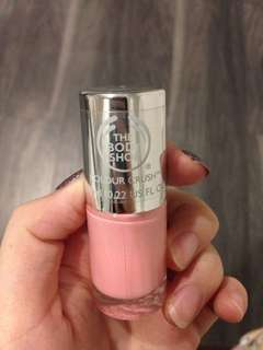 Pink Nail Polish The Body Shop